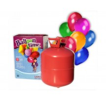 Helium na 100 balónků