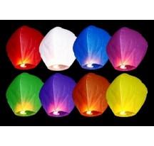 Létající lampion přání mix 10 kusů